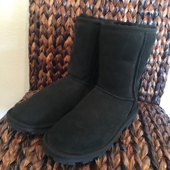 d96740cd276 UGG Classic Essential Short Black