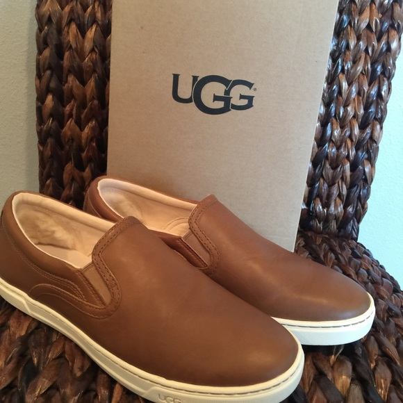UGG 'Fierce' Chestnut Sneaker