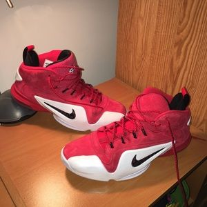 """d0526f310cab7 Nike Shoes - NIKE AIR PENNY 6 """"RED SUEDE"""" Size 11"""