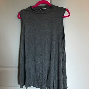 Acemi Tops - Grey Tunic Top