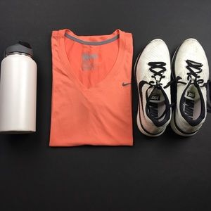 Nike Tops - The Nike Dr-fit Salmon Tee