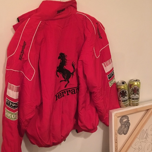 Vintage Ferrari Racing Jacket