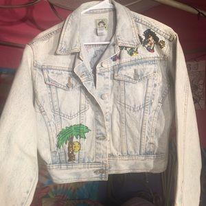 Vintage Betty boop jean jacket