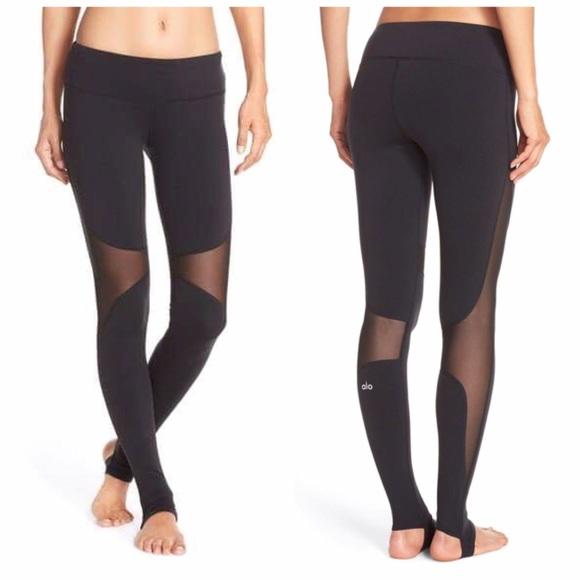bdde484d08f47 ALO Yoga Pants - Alo Yoga 'Coast' Mesh Inset Stirrup Leggings