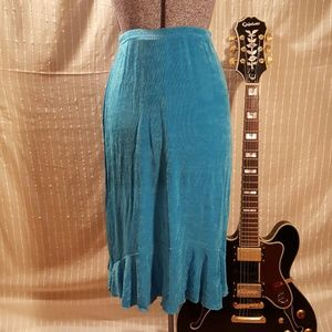 NWT Fiore Turquoise Skirt