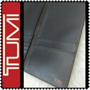 Tumi Handbags - Tumi Leather Passport Wallet