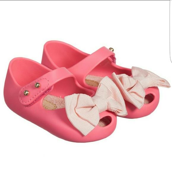 Mini Melissas Pink Infant Shoes | Poshmark