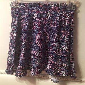 Charlotte Russe Dresses & Skirts - NWOT paisley skirt