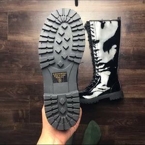 Shoes - C Label Knee High Combat Boots
