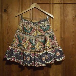Vintage Western Navajo Circle Skirt