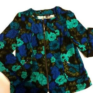 Notations Jackets & Blazers - 🎉HP!🎉💎NWOT °Notations Blue Floral Blazer