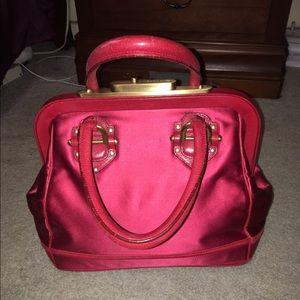 Zac Posen Handbags - 🎉SALE🎉 Zac Posen Aurora Red Satin Leather BAG