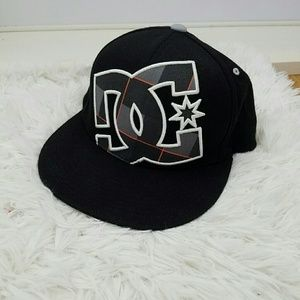 DC Other - DC EMBROIDERED FLEXFIT HAT