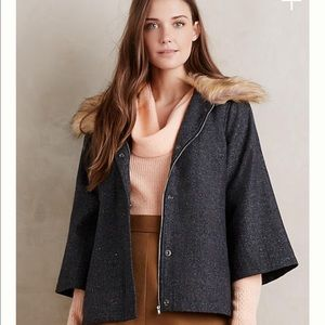 Collared Makana Coat