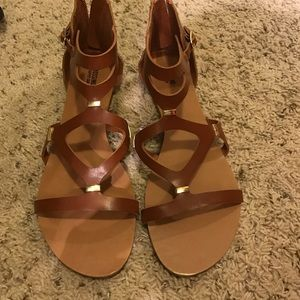 Size 10 Brown Mossimo Sandals