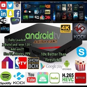 CHANEL Shoes - Android TV Box Firestick Fully Loaded TV PPV MOVIE