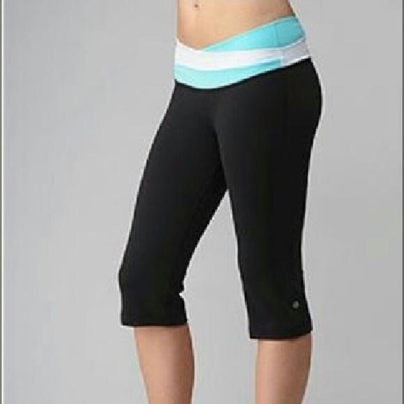 96298bea97ddb2 lululemon athletica Pants | Lululemon Capri Yoga | Poshmark