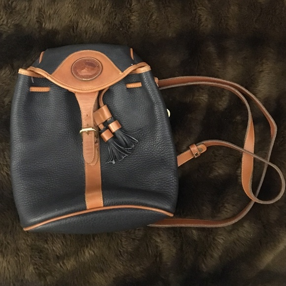 Vintage Dooney and Bourke backpack purse
