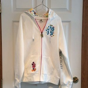 2015 Mickey Mouse zip hoody