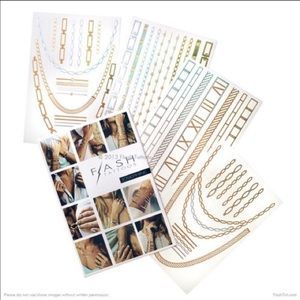 Flash Tattoo Accessories - $10 WHEN BUNDLED Metallic Josephine Flash Tattoos