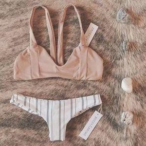triangl swimwear Other - sexy brazilian thong striped bikini chic
