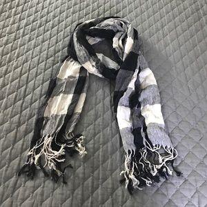 Accessories - Plaid square check Fashion scarf