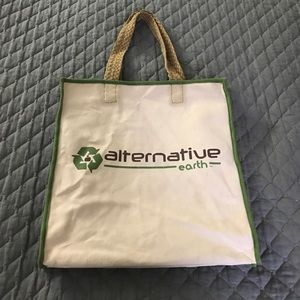 Alternative Handbags - Alternative Earth reusable tote bag