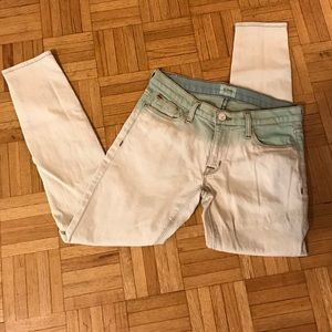 "HUDSON ""ombré"" denim jeans. Brand new."