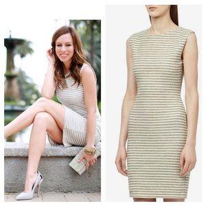 Reiss / kinette Striped Paneled dress