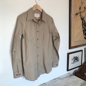 Filson Tops - Filson Tan Shooting Shirt Size S