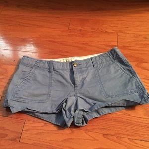 Old Navy blue khaki shorts