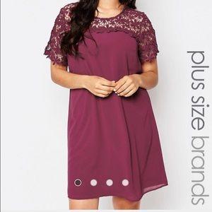 Lovedrobe Dresses & Skirts - Lovedrobe Berry Swing Dress