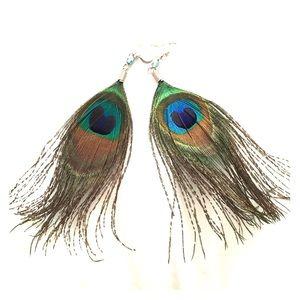 Jewelry - Peacock earrings