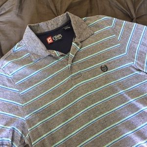 Chaps Other - 🎉Host Pick🎉NWOT Striped Polo Shirt