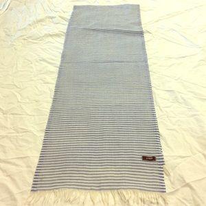 J.Crew lightweight striped scarf
