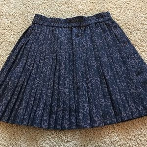 Pleated Banana Republic Skirt