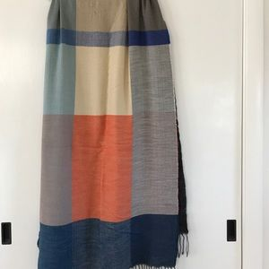 Gap color block scarf