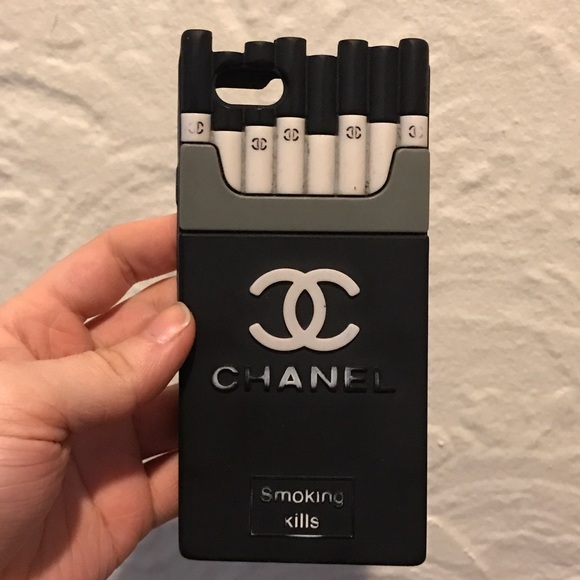 new arrival 931a7 7a1d4 iPhone 6s Chanel Smoking Kills Case