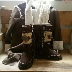 Montana West  Shoes - Montana West leather boots