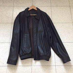 XL Jos A. Bank 100% leather jacket