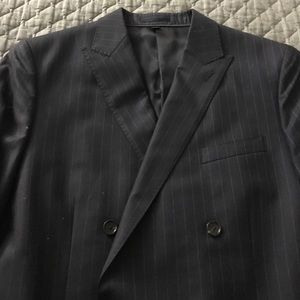 J. Crew Other - J.Crew Double Breasted Pin-stripe Suit Jacket