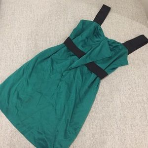 BCBGeneration Emerald cocktail dress