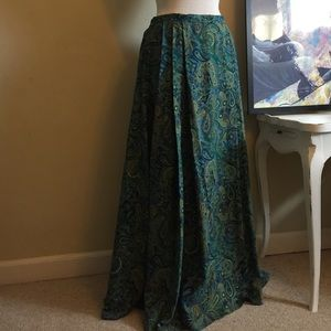 ❗SALE ❗Vintage Silk Maxi Skirt