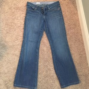 Boot cut Gap jeans