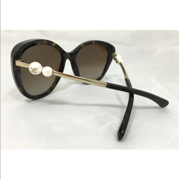5bc49ee1530 CHANEL Accessories - Chanel Tortoise Pearl Sunglasses