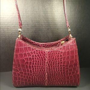 Liz Claiborne Handbags - Liz Claiborne Croc Embossed Handbag