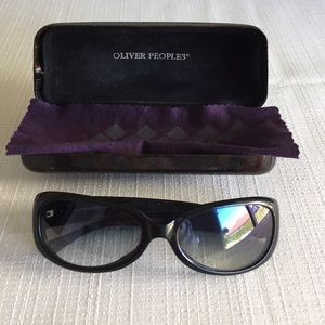 Oliver Peoples Accessories - Oliver Peoples model Jolie sunglassses, worn.