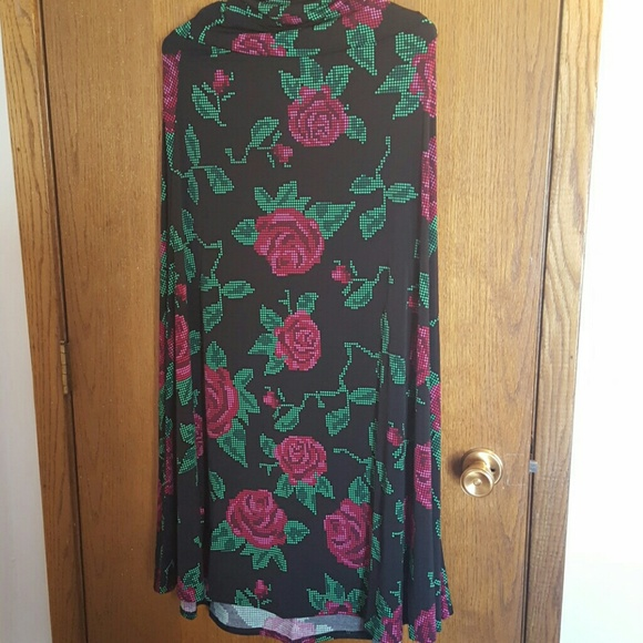 Women's Clothing Lularoe Maxi Roses Size Small New With Tags Skirts