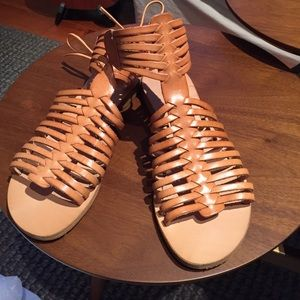 Cocobelle Shoes - Coco belle gladiator sandal. Size 7 1/2. Natural.