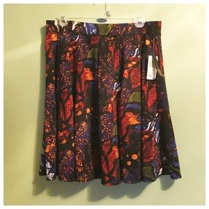 Grace Elements Dresses & Skirts - Abstract Floral Skirt